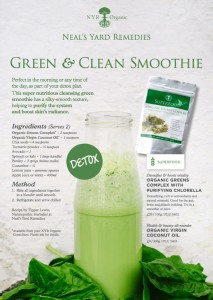 A picture recipe for the clean and green smoothie, detox, greens complex, neal's yard remedies, healthy eating, vitality, smoothie, healthy breakfast